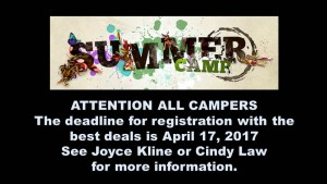 Camps 2017